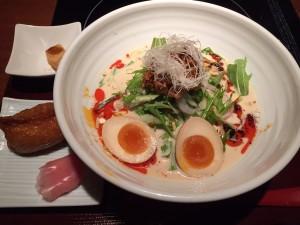 若どり(冷やし坦々麺)